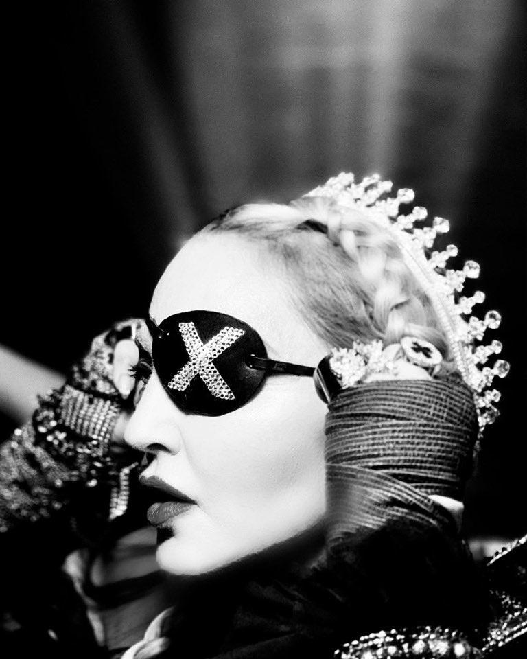Madame ❌ has many faces............ #Eurovision #future #madamex https://t.co/6vhPi2aDGb