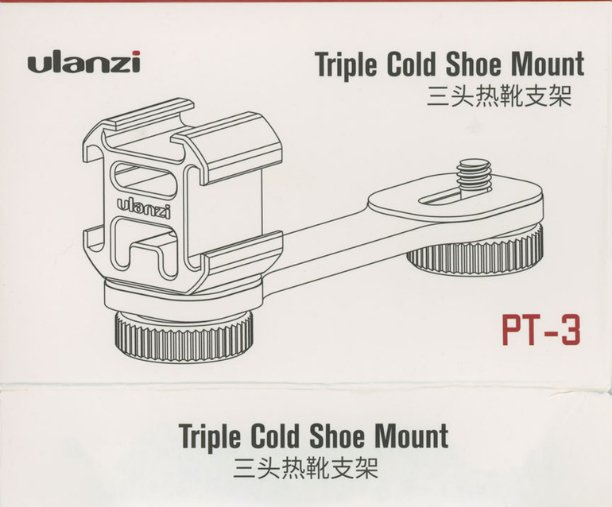 "test Twitter Media - Cold shoe, hot boot: From Stephen Hart (the object pictured is a camera attachment for microphones, lights, and the like): The Chinese says: sān tóu rè xuē zhījià 三头热靴支架 ""three-headed hot boot bracket"" I think that the English on the package,… https://t.co/vk3OxXRy0x https://t.co/wG6aHvcKwi"