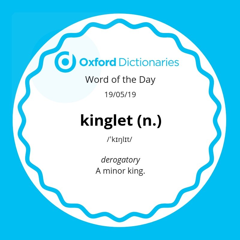 test Twitter Media - Word of the Day: kinglet https://t.co/L7TMKiZLuV https://t.co/RVAHA4cmrd