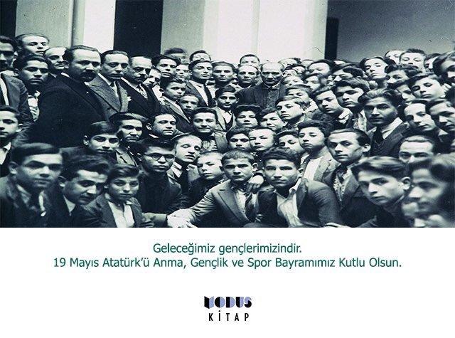 #19MAYIS1919 Geleceğimiz gençlerimizindir. 19 Mayıs Atatürk'ü Anma, Gençlik ve Spor Bayramımız Kutlu Olsun. https://t.co/oHV4Fulckb