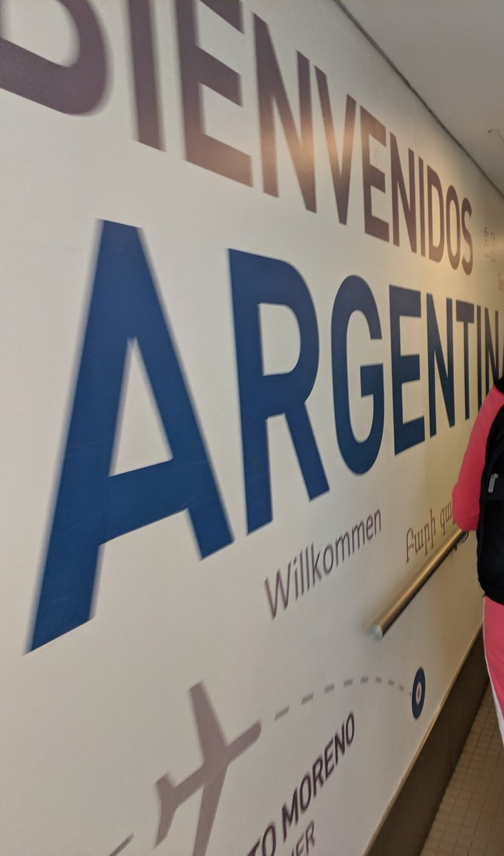 barbanet: Hello Argentina! (Finally). 3 down. 1 to go. #RoadFromImagine https://t.co/krvgxNELb8