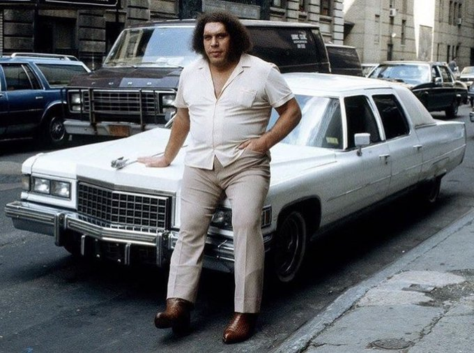 Today would have been André the Giant s 73rd birthday.  Happy Birthday, Boss