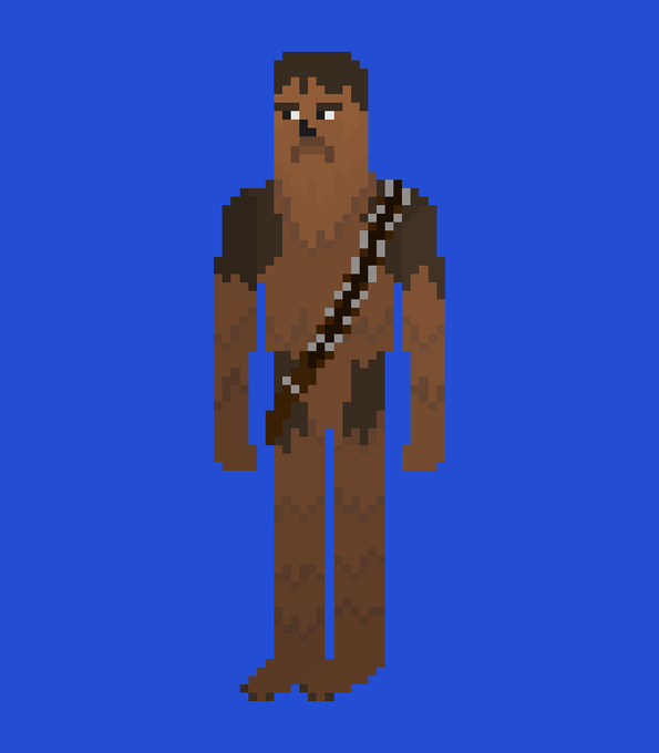 Happy Birthday to the recently departed Peter Mayhew who played Chewbacca for 38 years