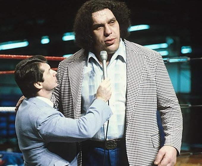 Happy Birthday to the late 8th Wonder of the World Andre The Giant