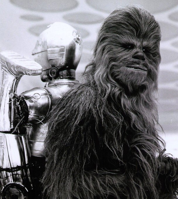Happy birthday, Peter Mayhew, better known as Chewbacca,