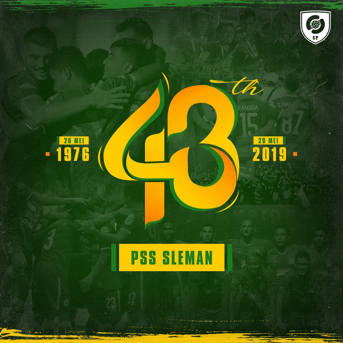 RT @SepakbolaSleman: LIVE MORE, BE MORE @PSSleman 🔥  #PSSforlife #PSS43TH https://t.co/HB8fExPz5J