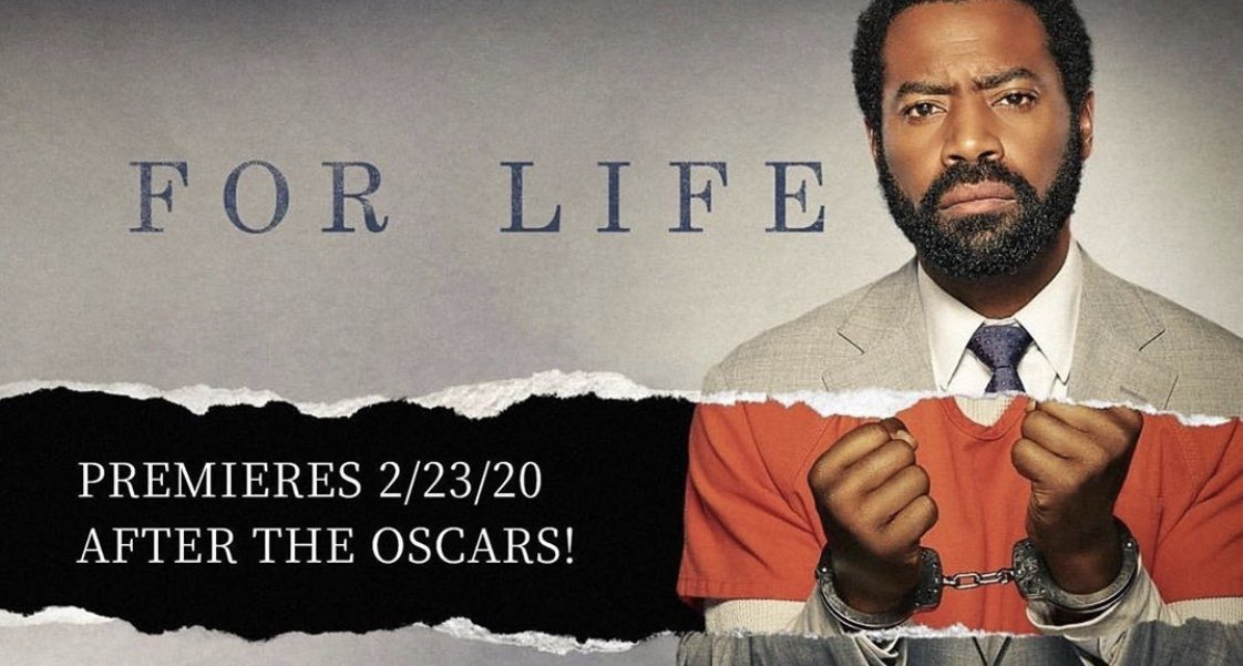 FOR LIFE is set to premiere right after the Oscars 2/23/2020.????????Boom #lecheminduroi #bransoncognac https://t.co/2HVcFkf2gX