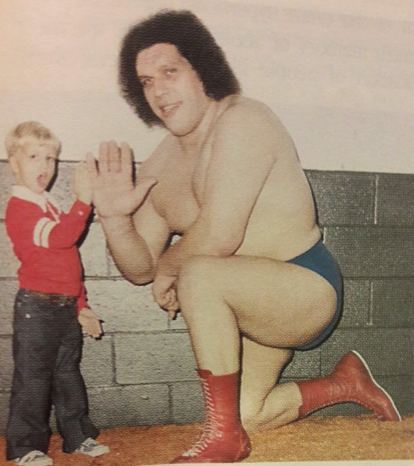 Happy 73rd Birthday in Heaven today to Andre The Giant!