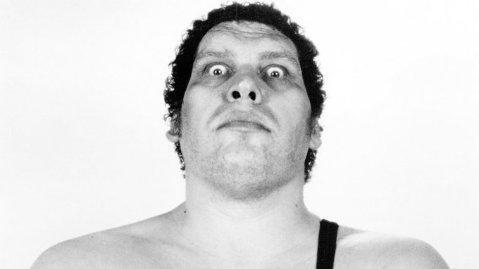 Happy 73rd Birthday To Andre the Giant