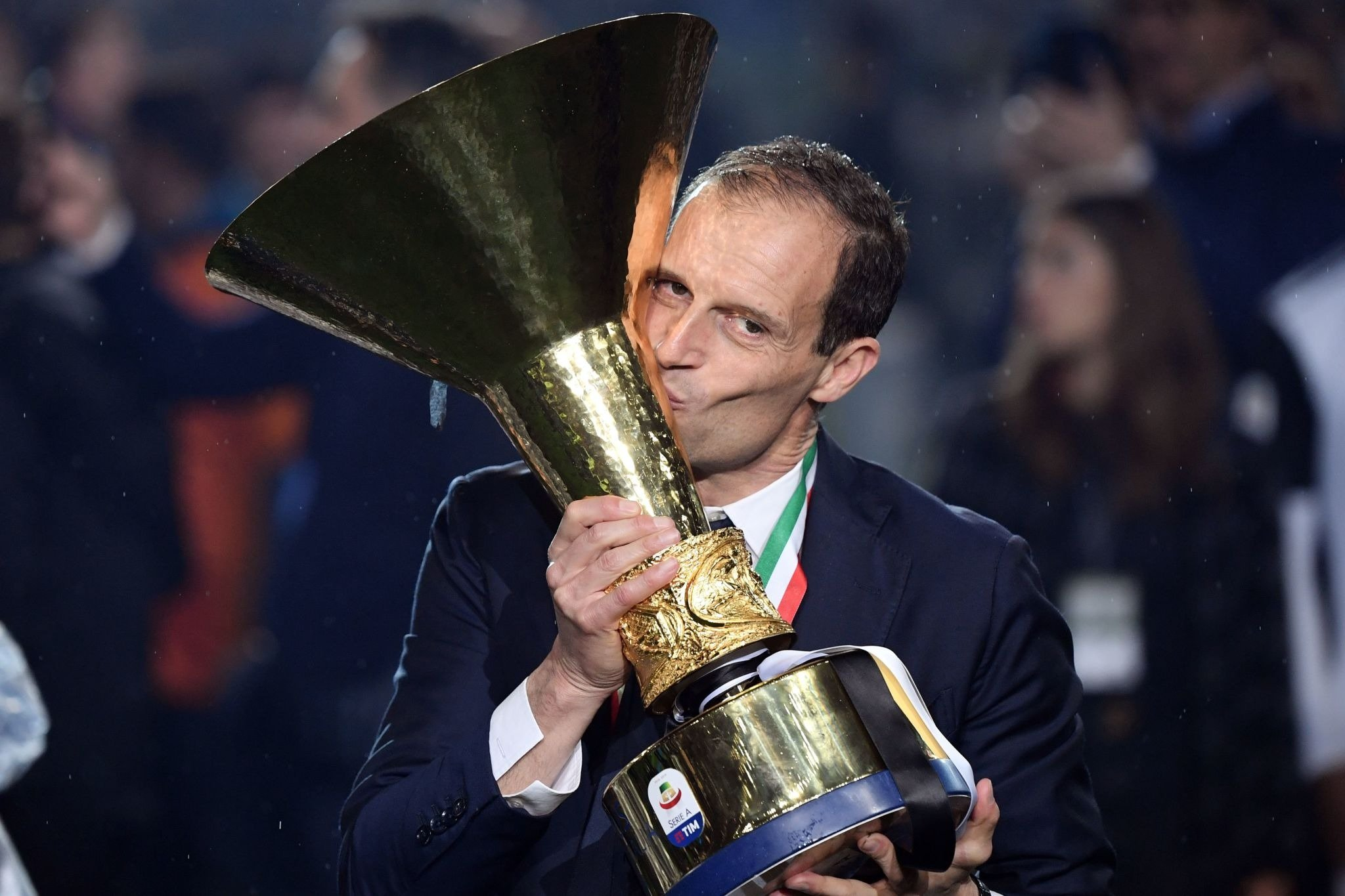 Massimiliano Allegri, a name that will be engraved in Juventus history books. https://t.co/hQUJCClzjs