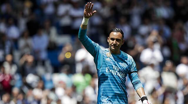 Aplausos y homenaje para Keylor Navas: hinchas del Real Madrid se despidieron del arquero https://t.co/j6mssQv6g8 https://t.co/nQWAEY9DaA