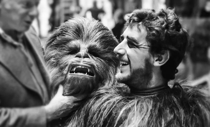 Happy posthumous birthday to the legend, Peter Mayhew. You\ll forever be in our hearts.