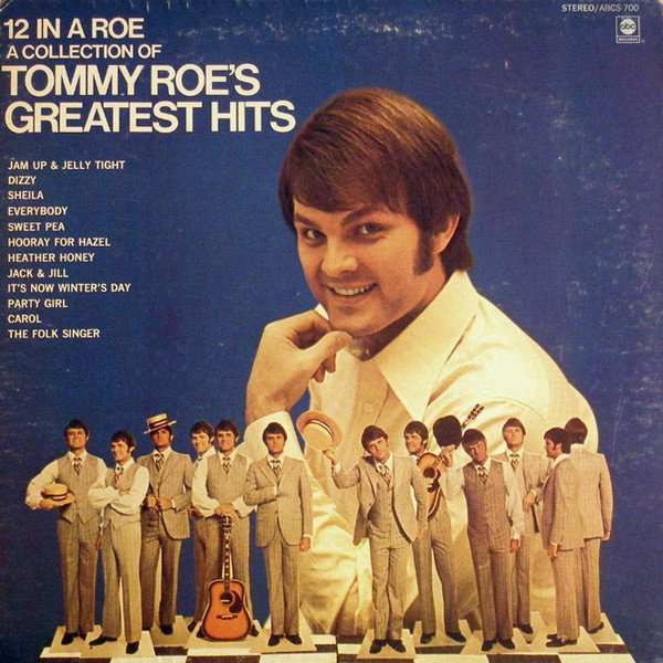 """May 9:Happy 77th birthday to singer,Tommy Roe (\""""Dizzy\"""")"""