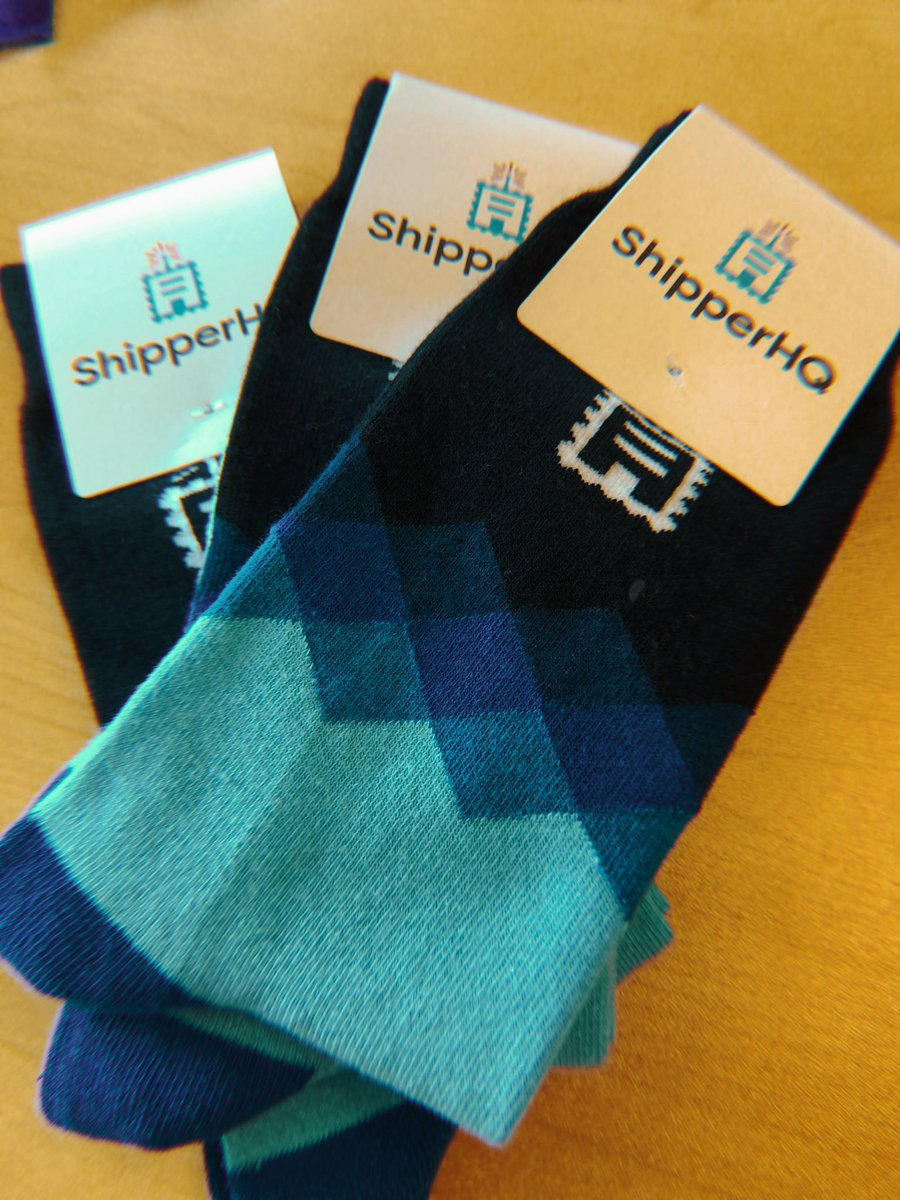 wsakaren: We have socks #MagentoImagine - you can wear these whilst playing with @ecommerceaholic's car https://t.co/0GWdcPjQvt