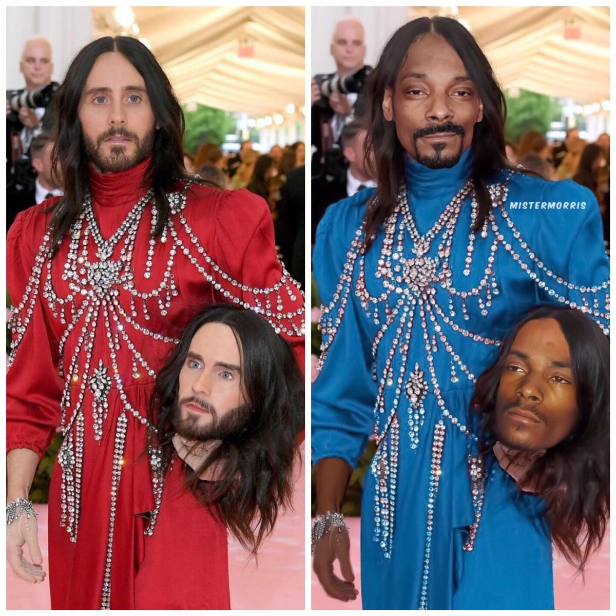 RT @mistermorris55: Who wore it best? @SnoopDogg or @JaredLeto https://t.co/mScpcvJXSe