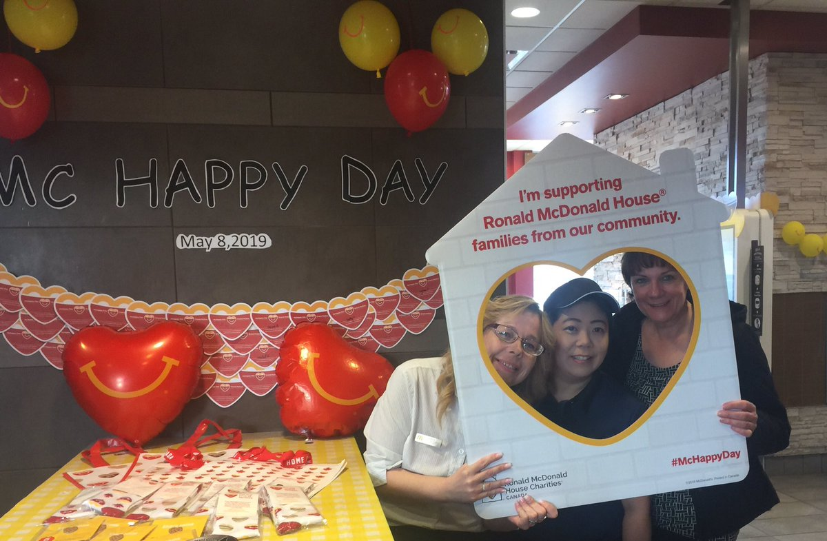 test Twitter Media - The first Wednesday of May is McHappy Day.  A great way to support Ronald McDonald House and local community charities.  Thank you to Kim and the staff at McDonalds for a great morning.  #McHappyDay2019 #KeepingFamiliesClose https://t.co/xflKLLBep3