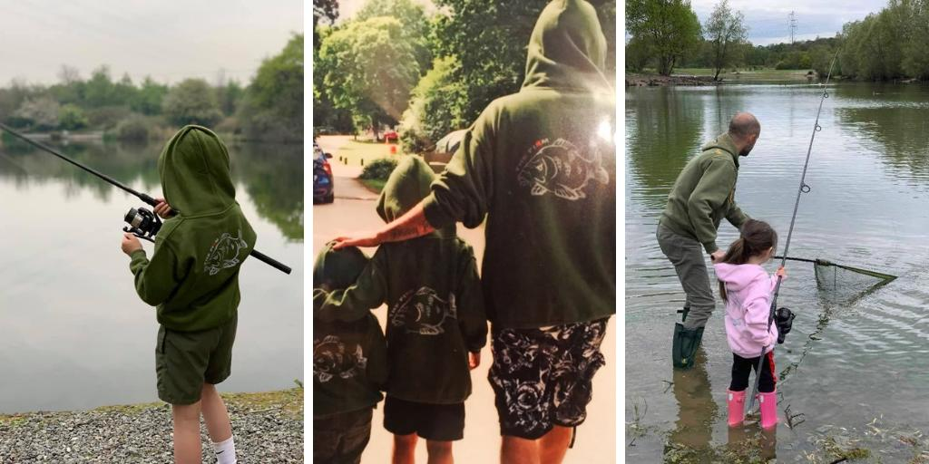 The Firm gear out and about this past week, have you been wearing yours?  #carpfishing #fishing #ang