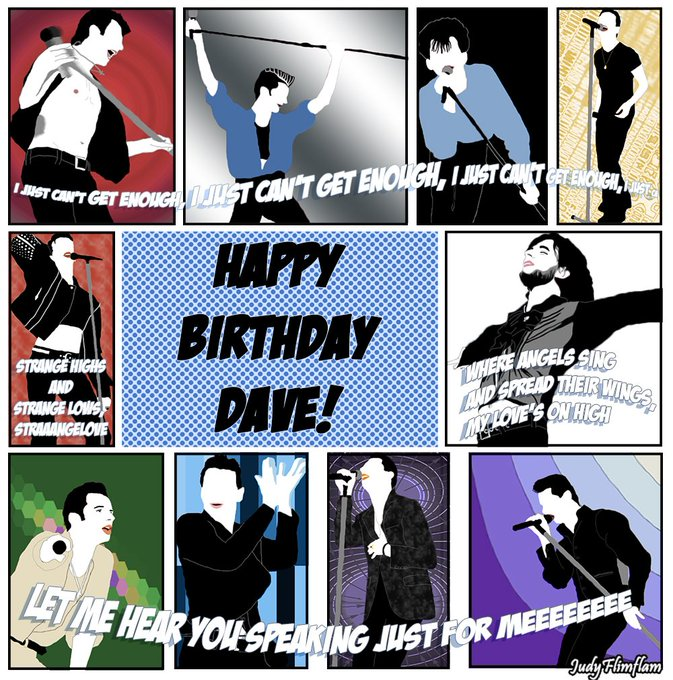 Happy Birthday, Dave Gahan!