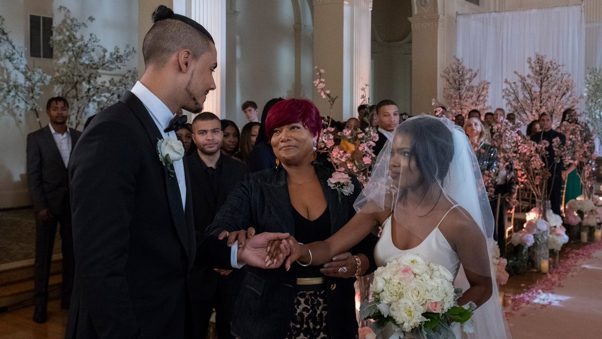 Miss C couldn't be prouder to walk Alex down the aisle. ❤️ #STAR https://t.co/fpLaivVdd3