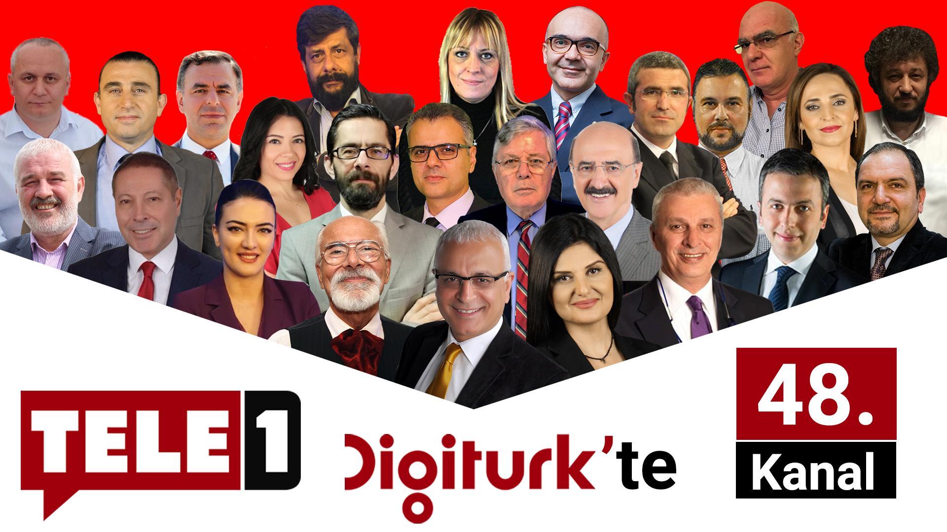 TELE 1, DİGİTÜRK'TE HD YAYINDA!