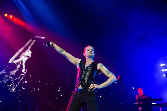 Happy birthday, Dave Gahan of Depeche Mode! Hope your birthday rocks as hard as you do.