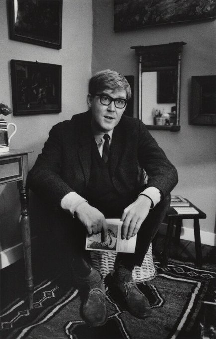 Happy birthday Alan Bennett. Playwright, actor, author.