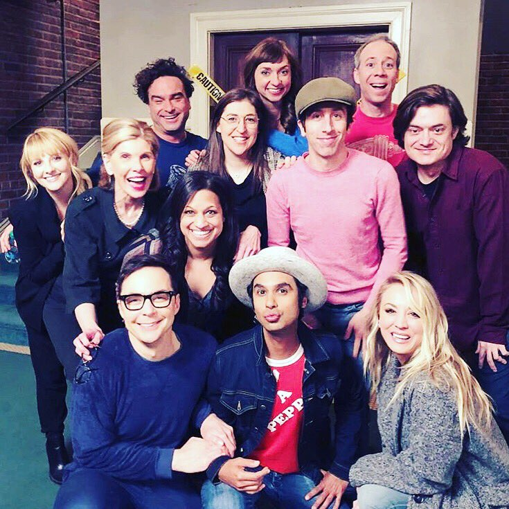 Such a wonderful episode of @bigbangtheory tonight! Get up on it!!!!! ???? https://t.co/yv9LKkFdzT