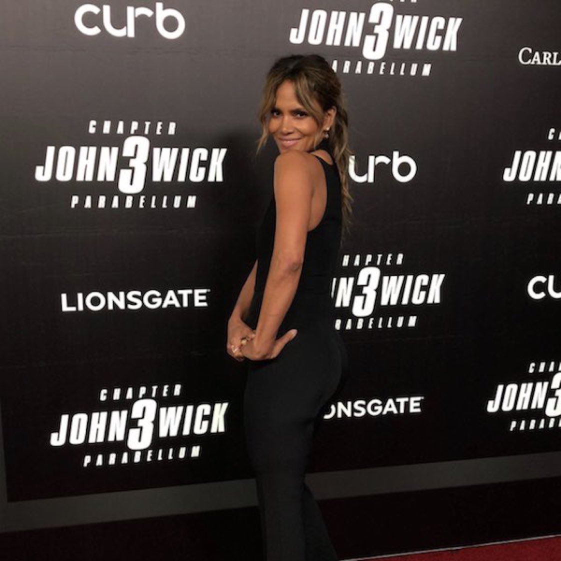 RT @Lionsgate: The incredible @halleberry has now arrived at the #JohnWick3⁠ ⁠ World Premiere. https://t.co/5S9ovBuPjT