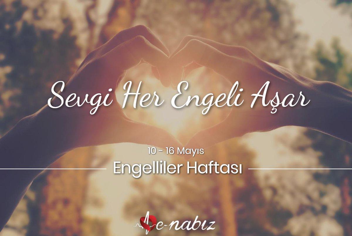 RT @enabizsistemi: Sevgi varsa engel yok. #EngellilerHaftası https://t.co/ubyjTUR1D6