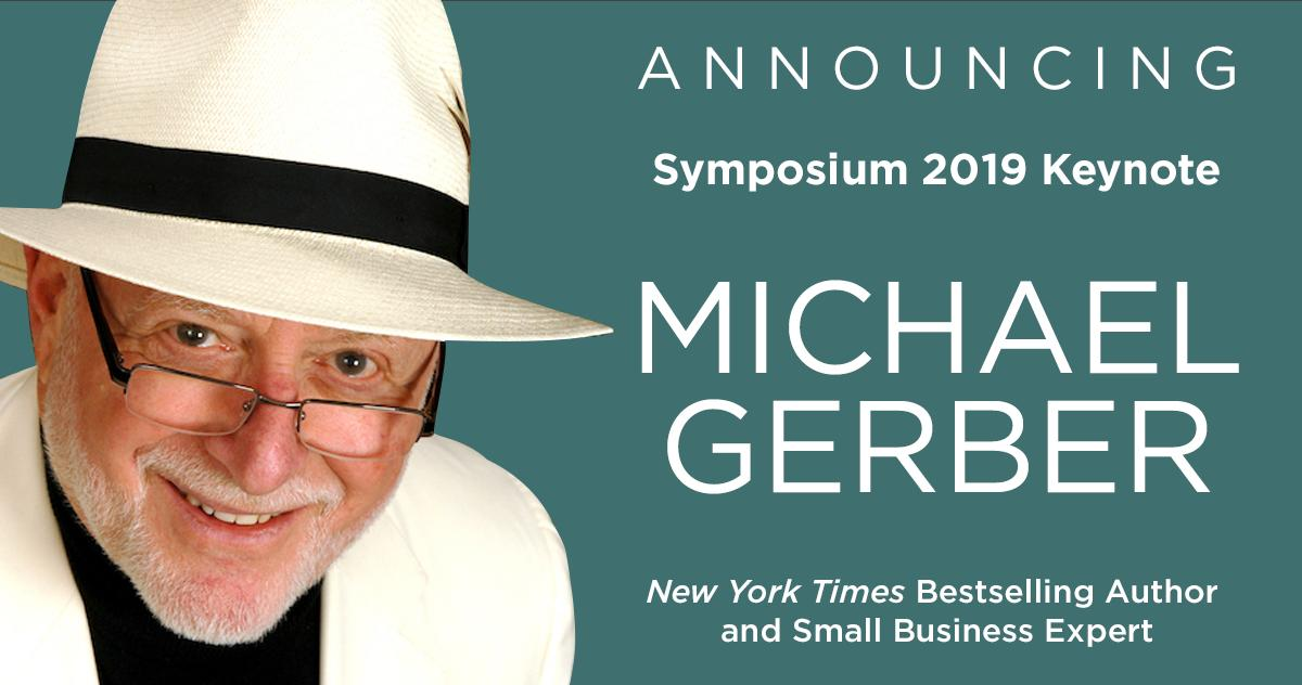 "test Twitter Media - We're excited to announce that Michael Gerber, dubbed by Inc. Magazine as the ""World's #1 Small Business Guru,"" will be the keynote speaker at Symposium 2019! Prices increase on Tuesday, May 14, so get your conference pass now by visiting https://t.co/hCaBLXDBk0 https://t.co/MxZ87PZdLi"