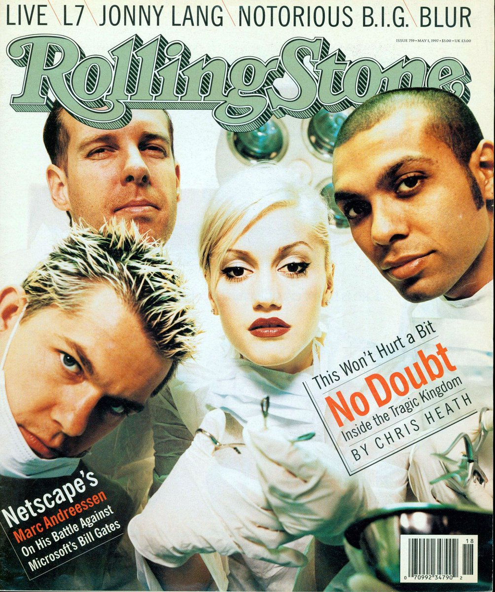 On the cover of @RollingStone during this month in 1997. https://t.co/KYdiW3dbnW