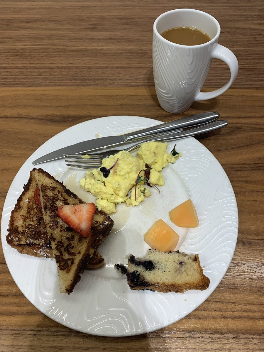 MagentoJenna: My #RoadtoImagine begins with a nice breakfast at #centurionlounge and a lovely 3 hour flight delay. See y'all soon! https://t.co/UvXpjtXb0w