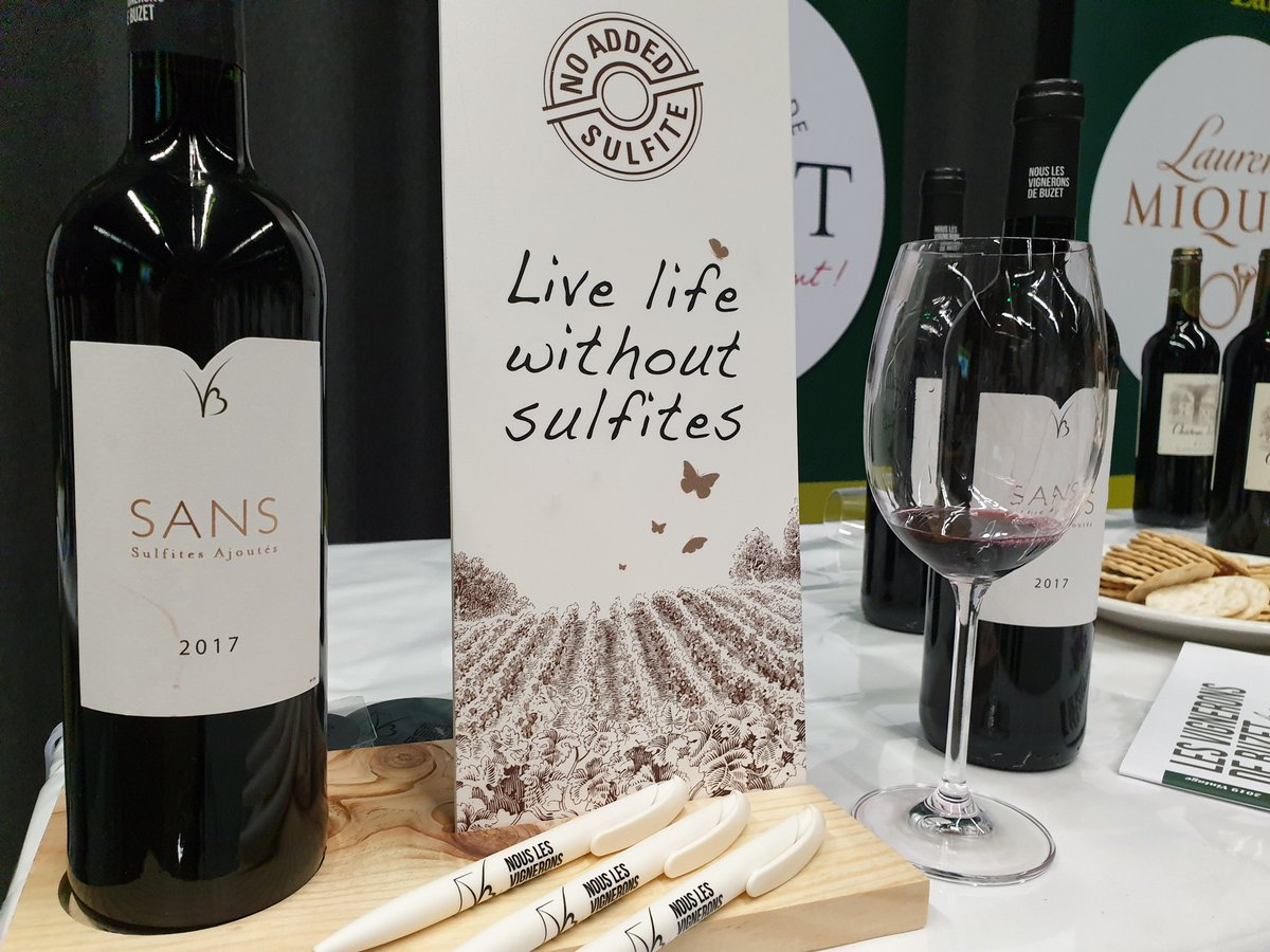 No sulfites? No problem! Balanced and vibrant red on the natural side by @vigneronsdebuzet #obwinefest https://t.co/ORgUg91AFP