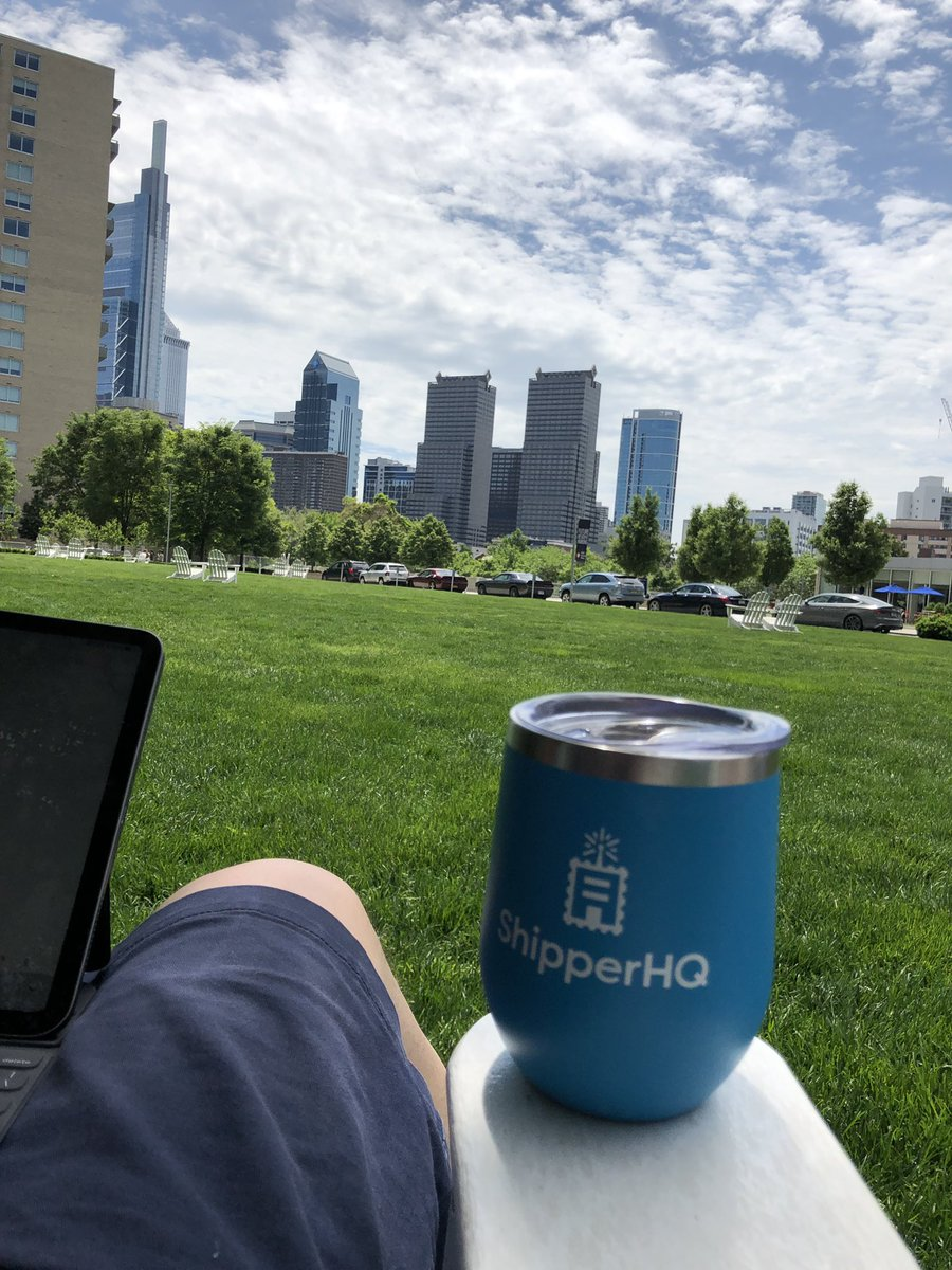 bartmroz: Little bit of work outside on Saturday before starting my #roadtoimagine tomorrow @shipperhq thanks for the cup https://t.co/fgvL2MdZhV