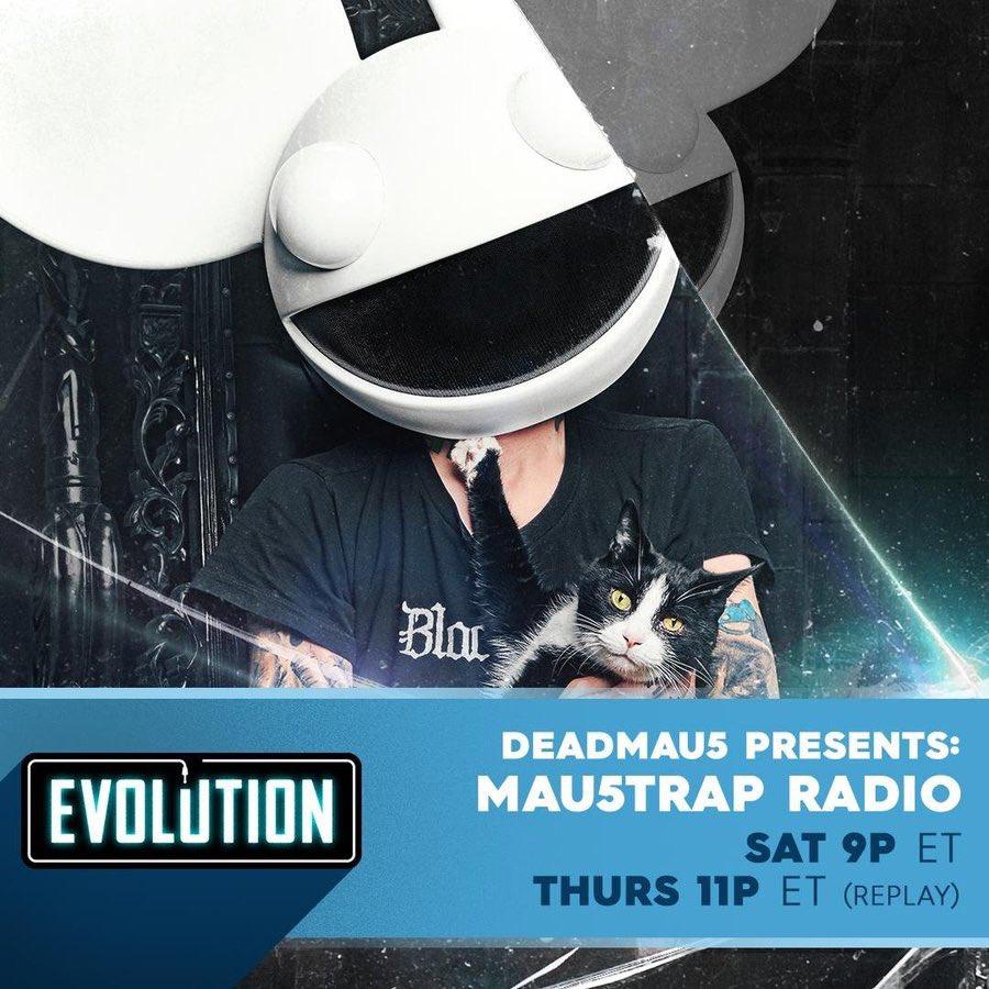 #mau5trapradio 6pm pst / 9pm est on @iheartradio@evolutionradio https://t.co/Trt8pxfQIA https://t.co/ZU6KJj0fYu