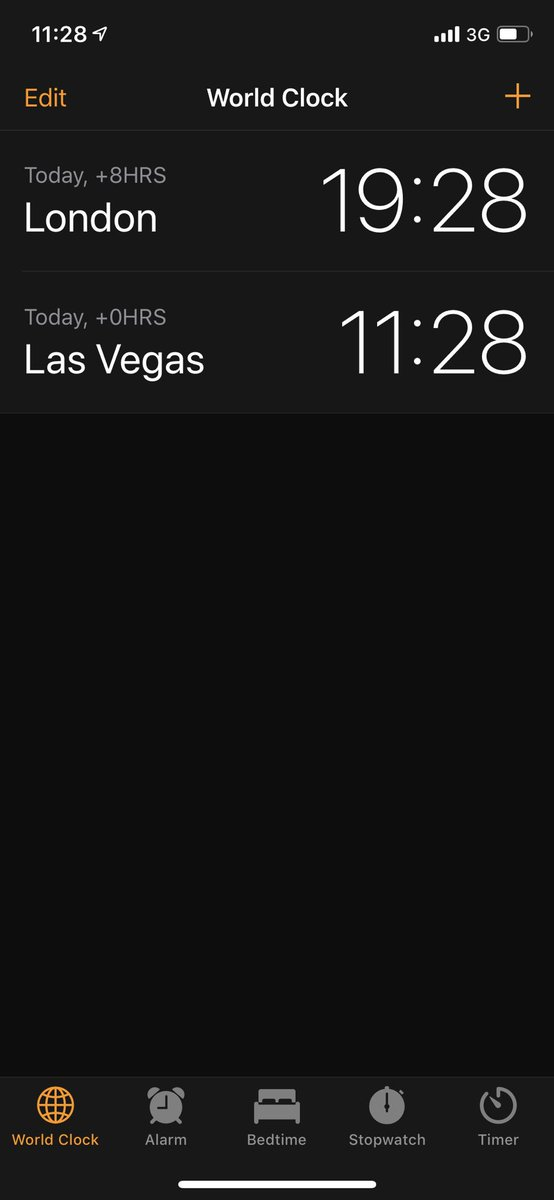 douglasradburn: I forgot that iPhone gives you a friendly reminder of what day it is as well as the time 😂 #RoadToImagine https://t.co/eyfgG8OFmx