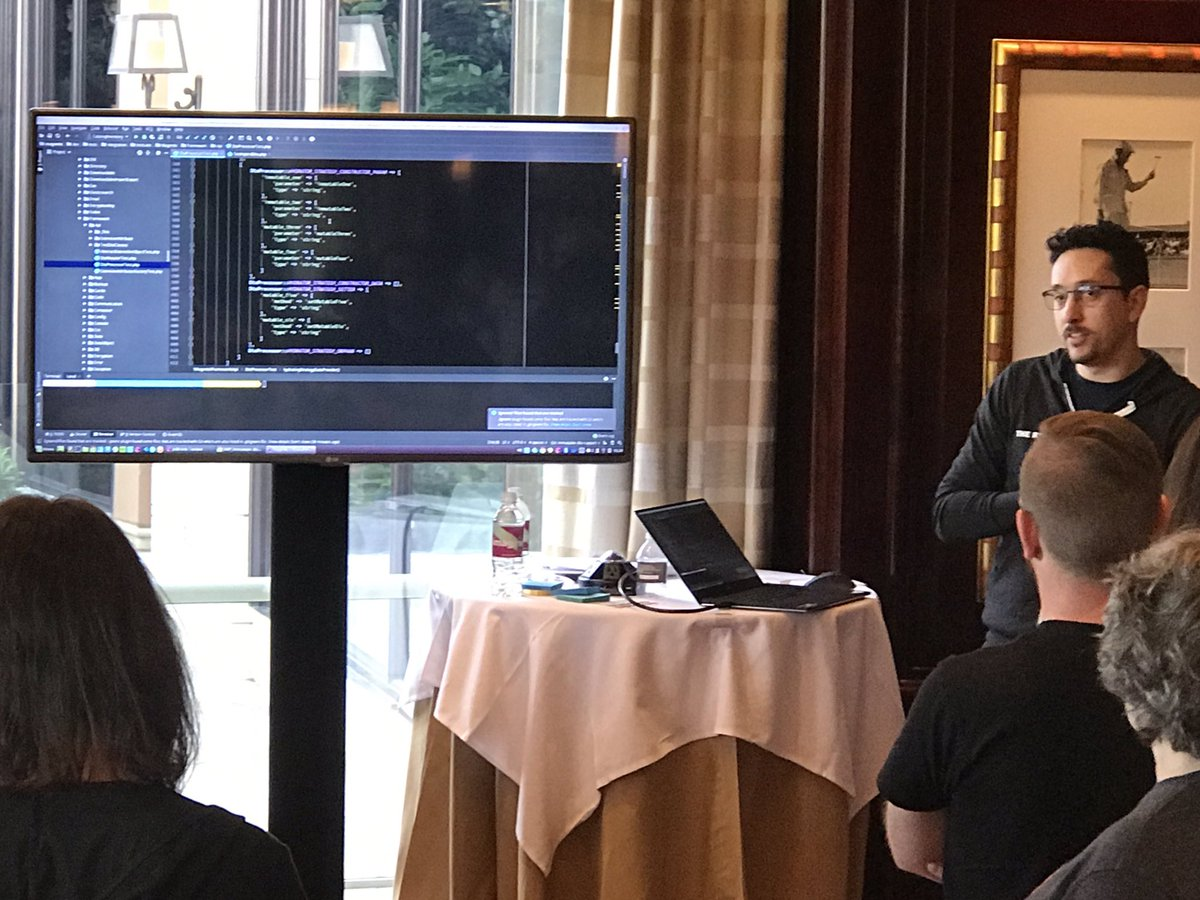 _Talesh: Oh man The Rick @RicTempesta always takes it to the next level. #MagentoImagine #ContributionDay https://t.co/F35jc4itvK