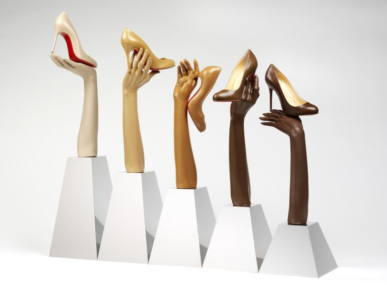#Didyouknow in 2013 French fashion house #ChristianLouboutin launched The Nudes Collection, a range of shoes in five skin tones? This was the first time that a major fashion house had adjusted its definition of nude to include skin colours other than white. https://t.co/aALhPsbjgb