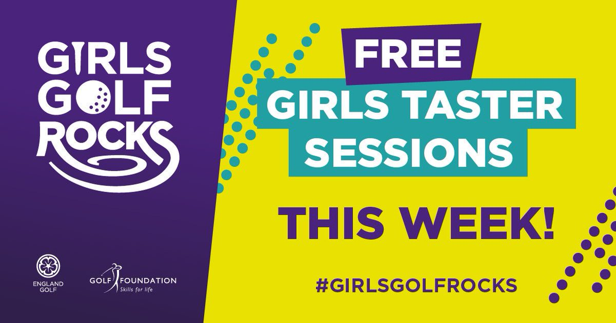 test Twitter Media - #GirlsGolfRocks NEXT WEEK! ONLY 5 SPACES LEFT  FREE GIRLS GOLF TASTER SESSION Sunday 19th May 2pm-4pm  Fantastic opportunity for girls to try a new sport and get in to golf. To book go to: https://t.co/a4UfbB384V @GirlsGolfRocks1 @EnglandGolf @GolfRootsHQ @GirlguidingMids https://t.co/vGLLH57dlV