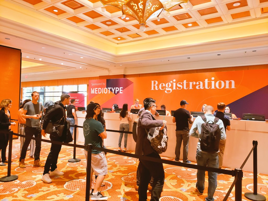 magento: Registration is OPEN at #MagentoImagine! Reminder to bring your ID and please don't change your lanyard. https://t.co/o0CfvJN0OF