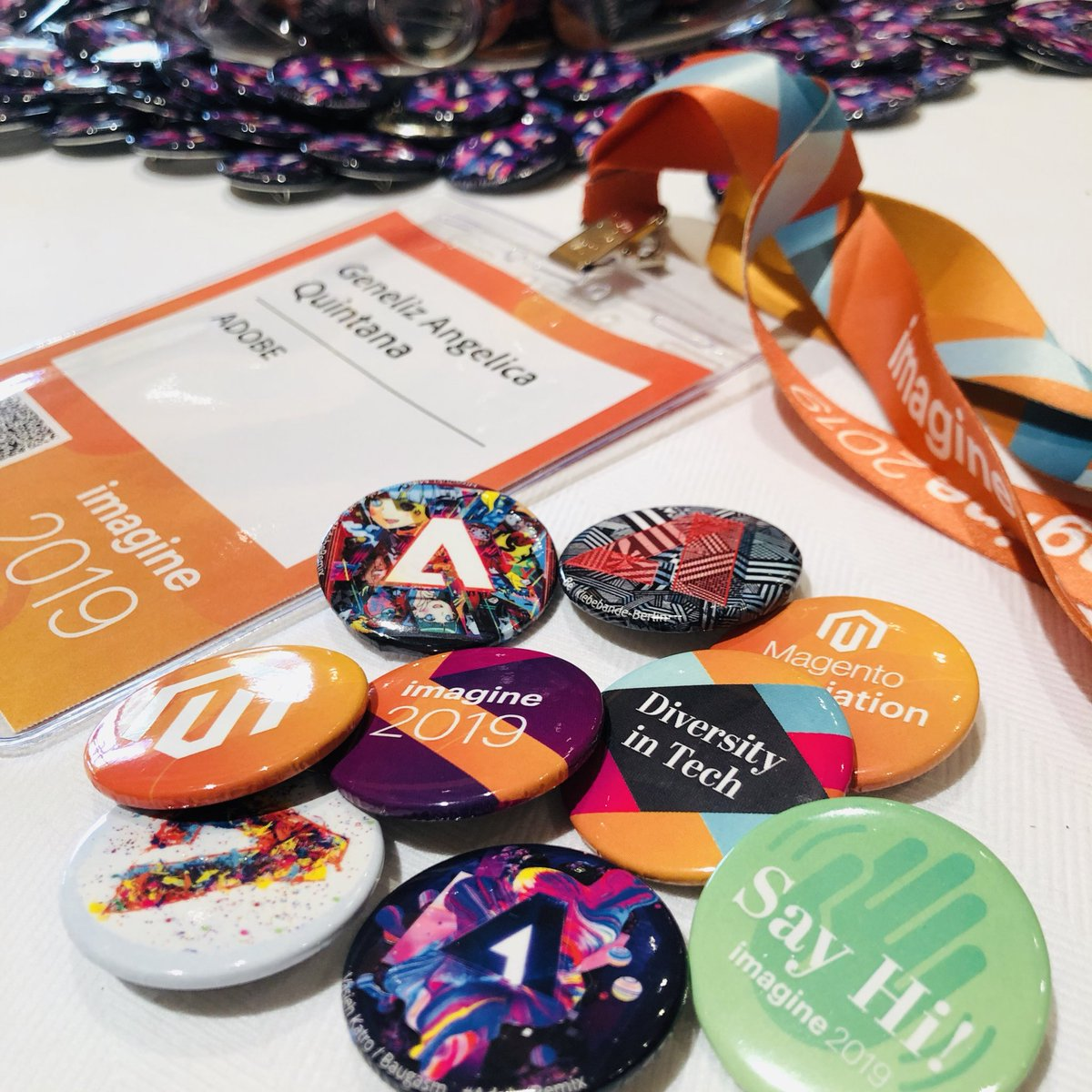 jenuhleez: Ready for my 3rd #MagentoImagine. Reg is now open! Come pick up your badge and buttons at Petrus! https://t.co/3hiNuZChjB
