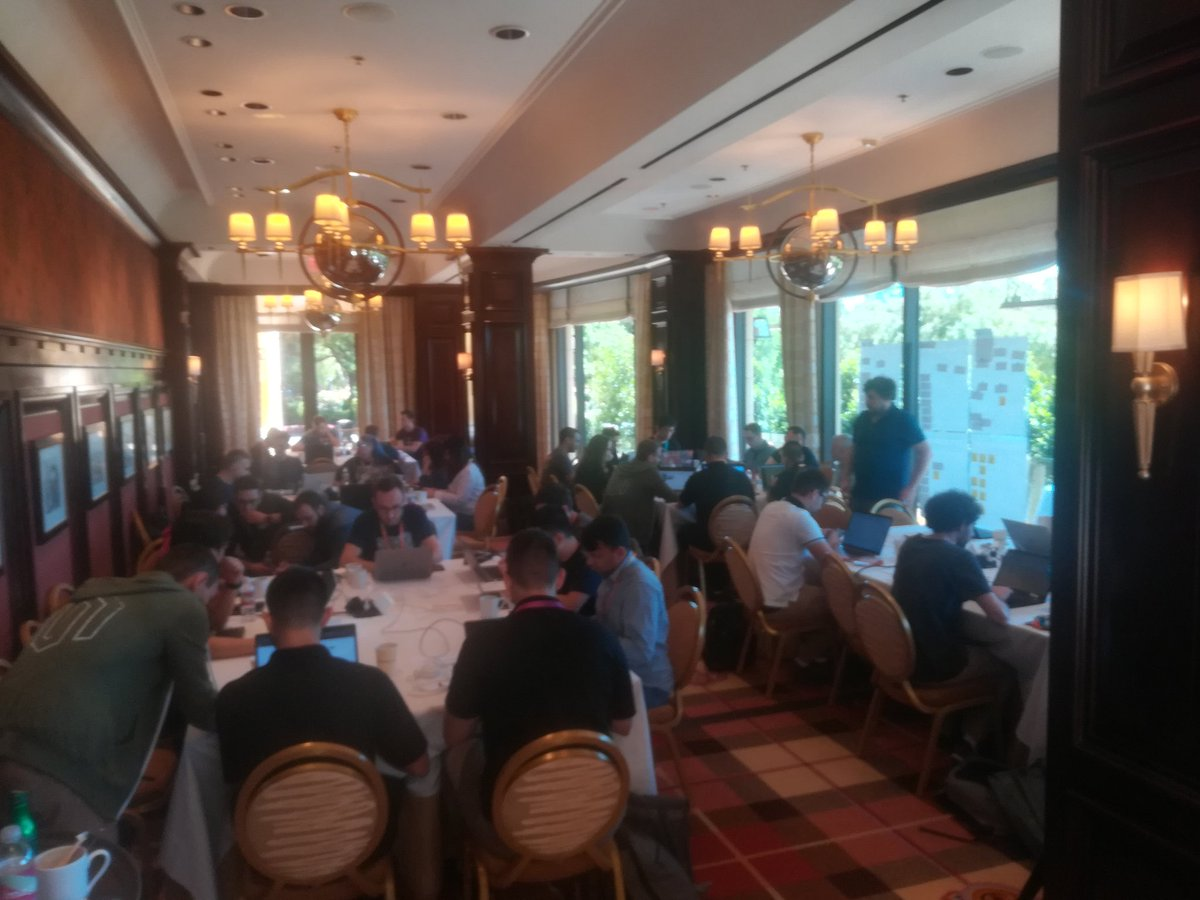 MagentoEngCom: Day 2 for the #MagentoImagine #ContributionDay going well. Lots of people getting involved. https://t.co/5igtwLxRYP
