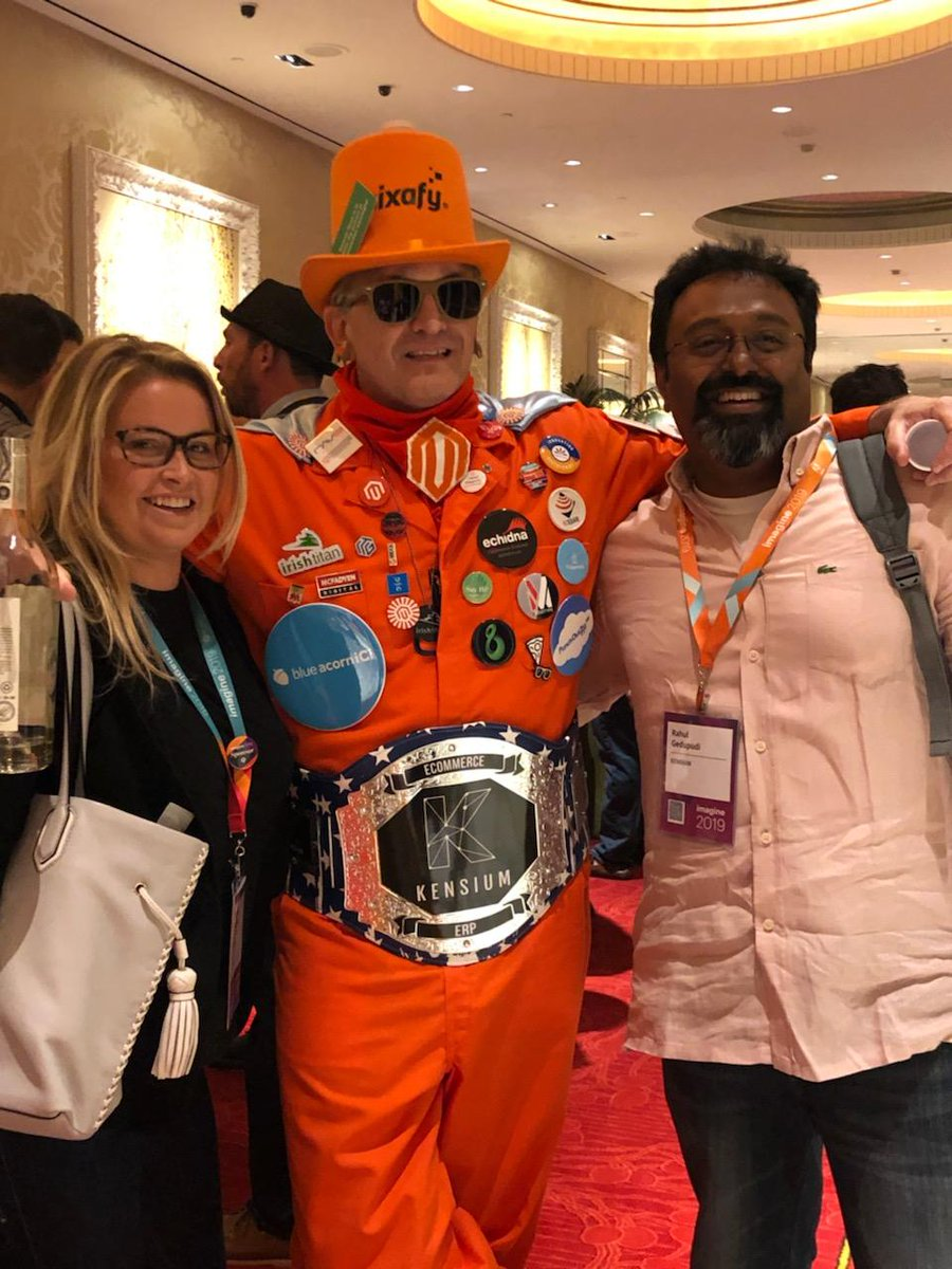 kensium: No, that's not Akon, but it is an #eCommerce convict. #ConvictMusicnn#MagentoImagine @magento https://t.co/W0vk0FnI5K