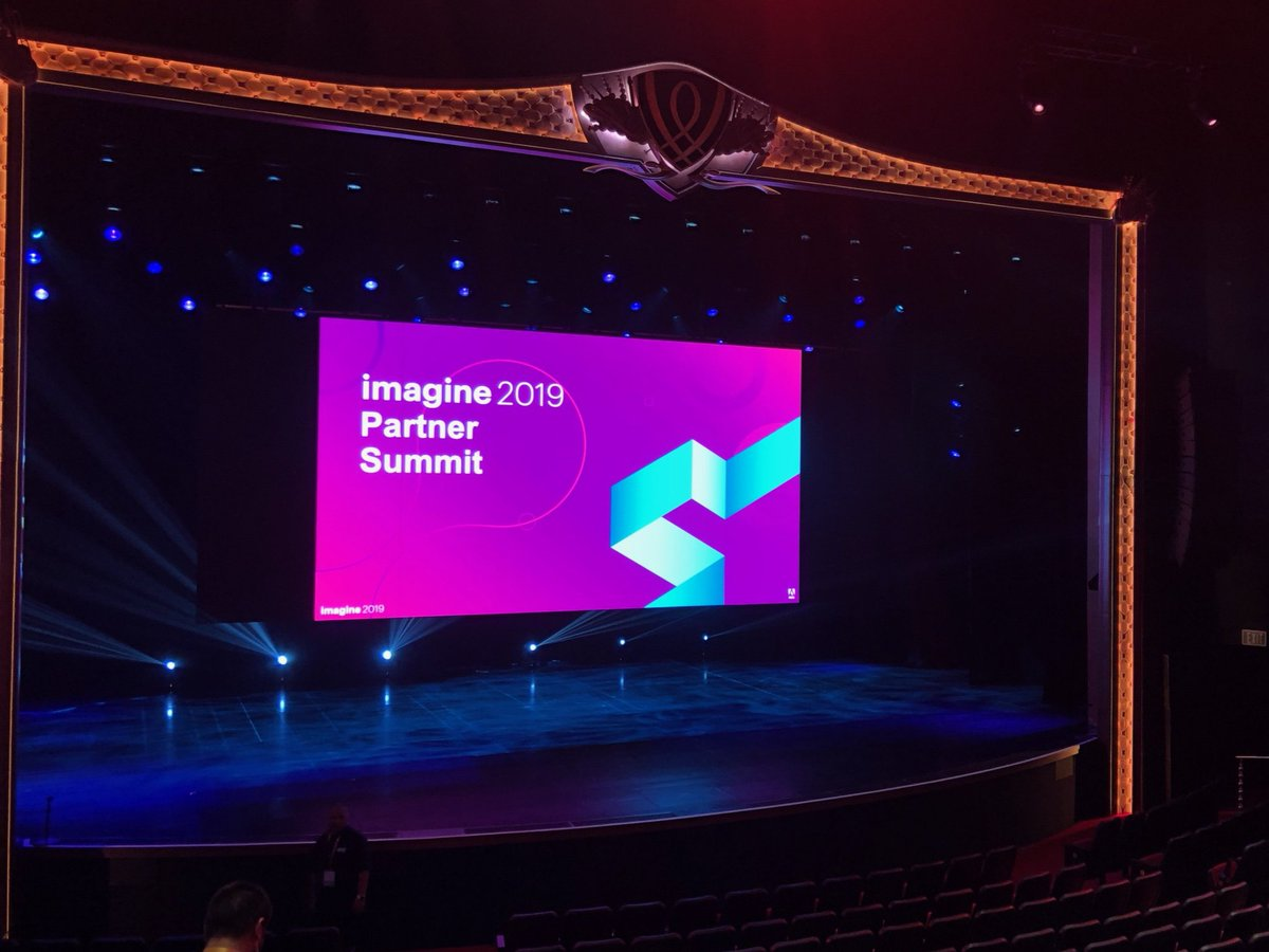 magento: The #MagentoImagine Partner Summit starts soon in the Encore theater! n#MagentoPartners https://t.co/Z1TyVcwnDs