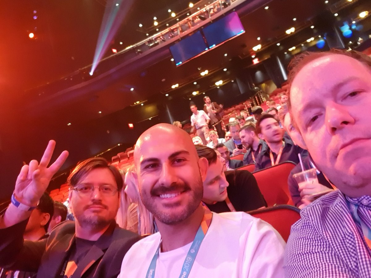paulgreen316: The @Tryzens team in place and ready for the partner summit. #MagentoImagine https://t.co/4fd1TPOqkY