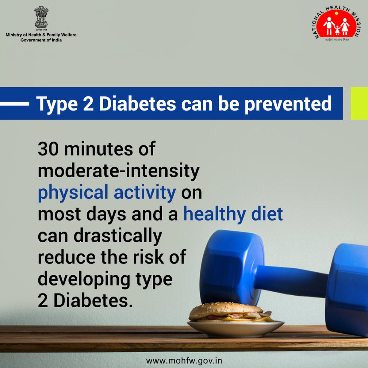 test Twitter Media - With type 2 #Diabetes, the body either doesn't produce enough #insulin, or it resists insulin. You can prevent it by self-care. https://t.co/78L7M1cq0y  #BeatNCDs #SwasthaBharat @PMOIndia @NITIAayog @PIB_India @amitabhk87 https://t.co/WKx8y0ptT9
