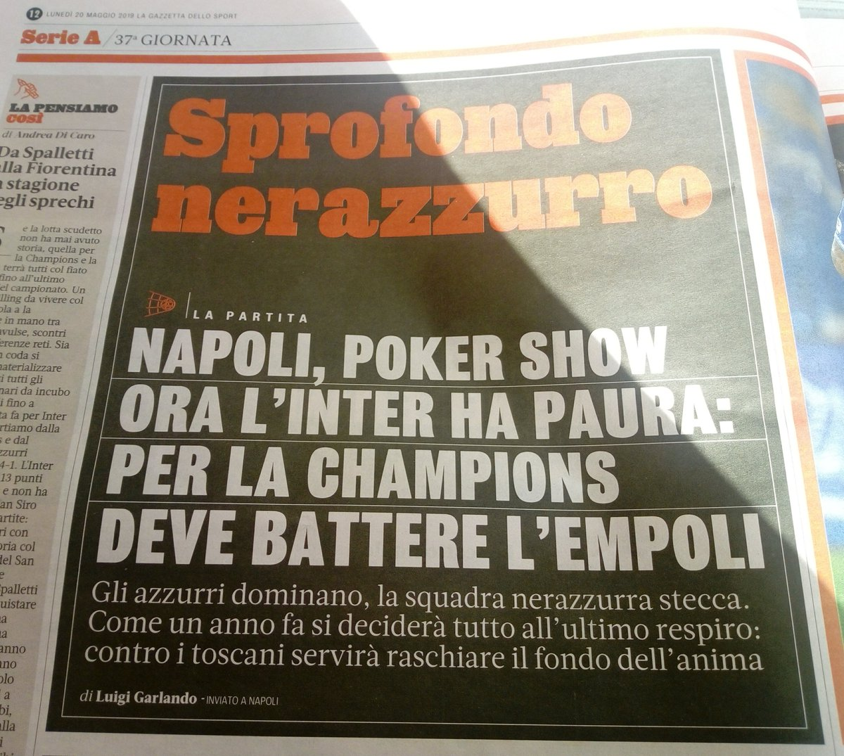 #NapoliInter