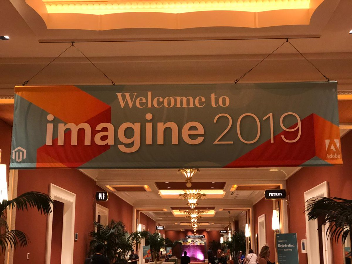 webkul: Finally after 50 hours of flight , we are here at Magento imagine #Magento #Imagine2019 #MagentoImagine @magento https://t.co/IiFnsepy7Z
