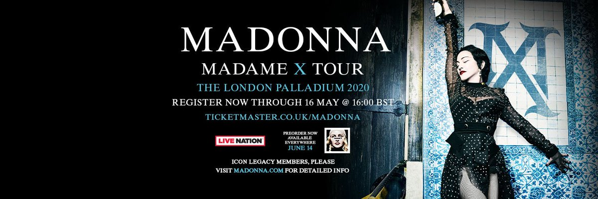 Madonna unveils MADAME X Tour London shows! https://t.co/JvyzbTr2g2 https://t.co/ilel0O1RXR