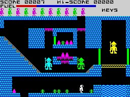 #MastertronicMonday Caves of Doom  The graphics scream budget, but for £1.99 you get 40 levels of a decent enough platform game. https://t.co/Dftz1GcD1F